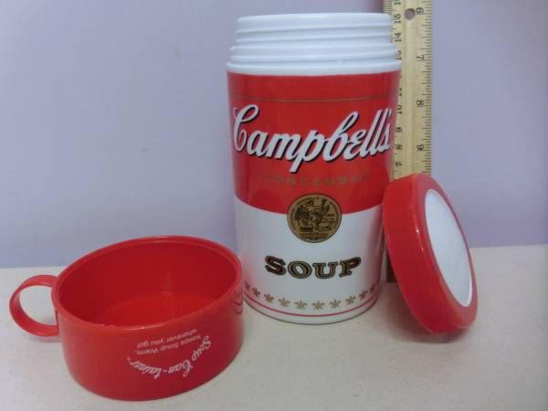 キャンベル スープ 水筒 容器 企業物 Campbells campbellsoup 検 アンディ・ウォーホル Andy Warhol インテリア_画像2