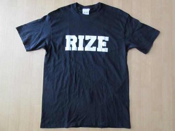 非売品 RIZE FOREPLAY Tシャツ L ブラック 黒 ライズ 雷図 JESSE ジェシー 金子ノブアキ KenKen フォアプレイ EPIC SONY not for sale