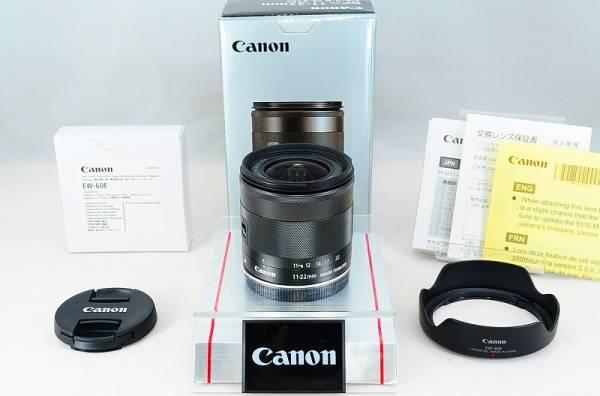 ★美品★キャノン CANON EF-M 11-22mm F4-5.6 IS STM 元箱付き