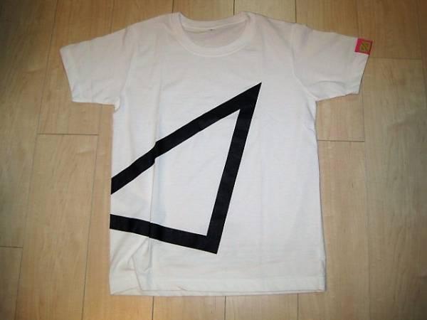 パフューム Perfume ツアーTシャツ 2009 直角二等辺三角形 TOUR トライアングル サイズS ライブグッズの画像