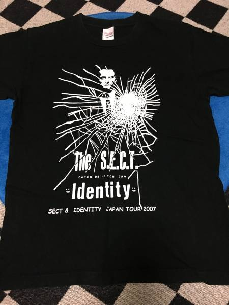 sect identity japan tour 2007 tour Tシャツ 検 snuffysmile lovemen blew navel damned dameged good
