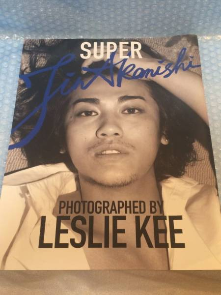 LESLIE KEE レスリー・キー 赤西仁 写真集 SUPER JIN AKANISHI