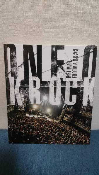 【販売終了品】ONE OK ROCK ☆ ワンオクロック PRIMAL FOOTMARK #3 フォトブック 写真集