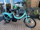 自転車22 2014年モデル ヤマハ PAS Babby PM20 ターコイズブルー 8.7Ah 車体&バッテリー極めて良好!