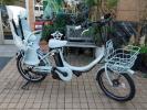 自転車24 2014年モデル 子供乗せ ブリヂストン bikke2 e BK084 ブルーグレー 8.7Ah ビッケツーe 車体&バッテリー極めて良好!