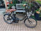 自転車41 2015年購入 ヤマハ PAS CITY-C PM20CC マットオリーブ パスシティシー 8.7Ah 車体&バッテリー極めて良好!