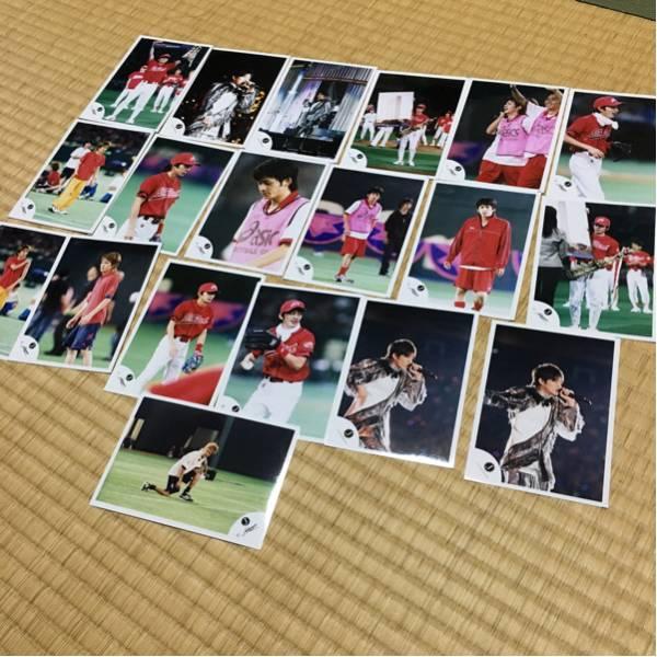 V6 岡田准一 公式生写真 J-FRIENDS Jロゴ 当時物 野球運動会 コンサートグッズの画像