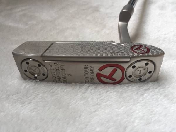 SCOTTY CAMERON Concept2 FOR TOUR USE ONLY T-red