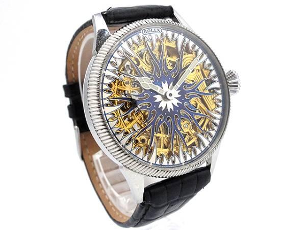超希少★ROLEX ロレックス アンティーク フルスケルトン 手巻き 腕時計 42mm 1910-1920年代