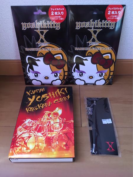 XJAPAN YOSHIKIカレー グッズセット ライブグッズの画像