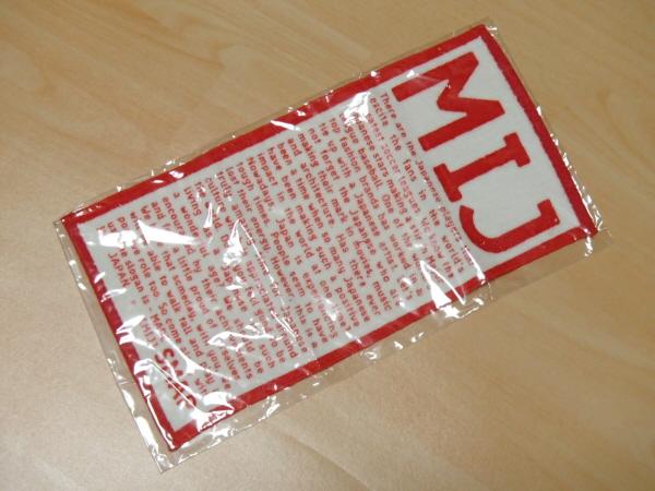 SMAP(スマップ) ハンドタオル 2003年「MIJ」コンサートグッズ 未使用