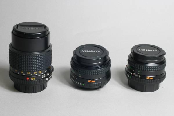 ★ミノルタminolta XG-S レンズ3本付き_画像3