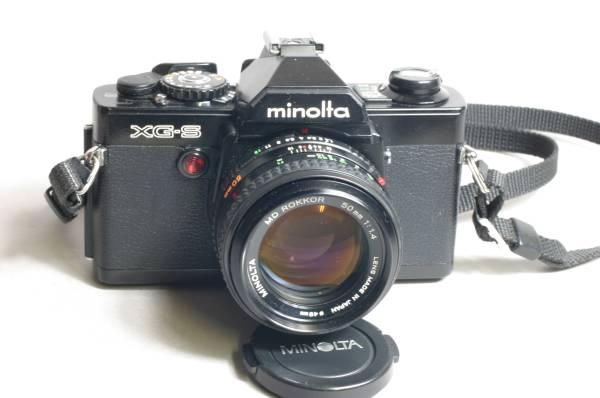 ★ミノルタminolta XG-S レンズ3本付き_画像2