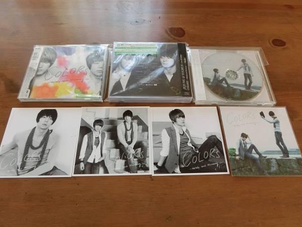 ■JEJUN & YUCHUN ■COLORS ■CD DVD ジャケカ プチ会報
