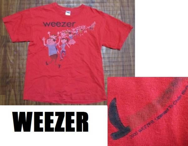 希少WEEZER★2000年プリント半袖Tシャツ★L