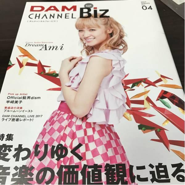 非売品(DAMチャンネル冊子) Dream Ami ライブ・イベントグッズの画像