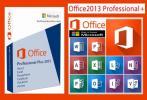 Office Professional Plus 2013 プロダクトキー(エクセル・ワード等)【ダウンロード版】オンライン認証☆認証保証☆返金保証