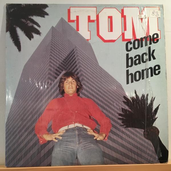 ☆Tom Hooker/Come Back Home☆哀愁イタロブギ!_画像1
