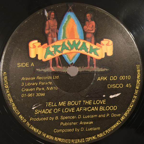 ★Shade Of Love African Blood/Tell Me Bout Love★哀愁LOVERS_画像1