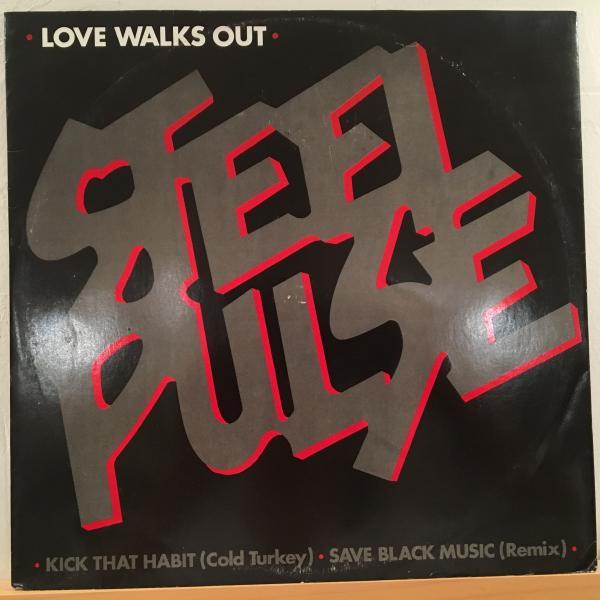 ★Steel Pulse/Love Walks Out★大穴UK LOVERS隠れ名曲!_画像1
