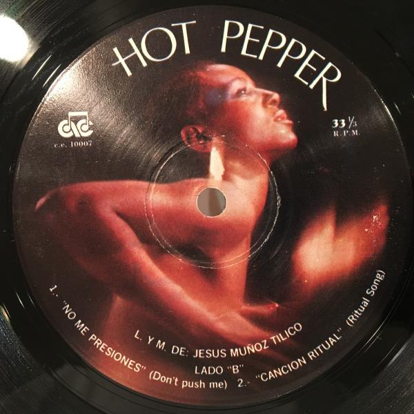 ☆Hot Pepper/Spanglish Movement☆メキシコトライバルディスコ_画像3