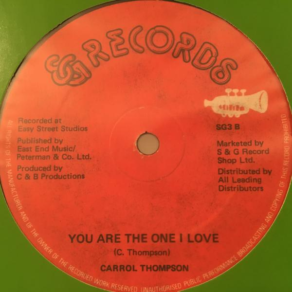 ★Carroll Thompson/You Are The One★アーバンLOVERS傑作!_画像1