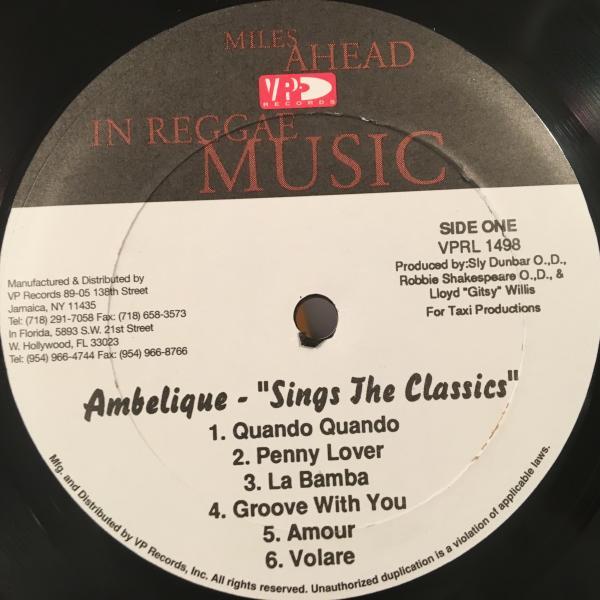 ★Ambelique/Sings The Classics★ISLEY BROTHERSカバー!_画像2