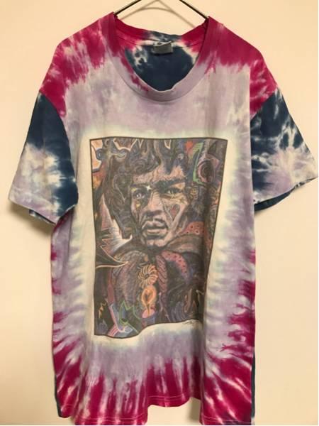 ビンテージ タイダイ Tシャツ 90年代 フルーツオブザルーム カラフル Tシャツ シャツ 半袖