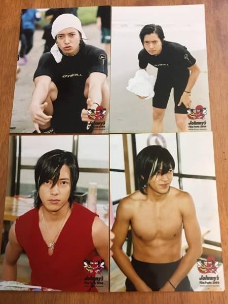 ☆山下智久☆☆Johnny's Film Festa 2006 公式写真 4枚☆美品☆