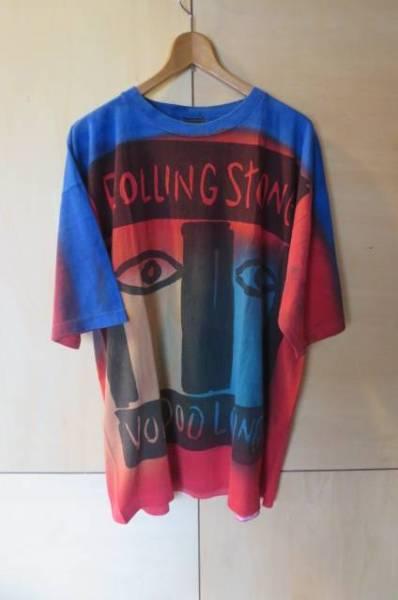 90s ローリングストーンズ Voodoo Lounge タイダイ バンド Tシャツ ビンテージ XXL ライブグッズの画像