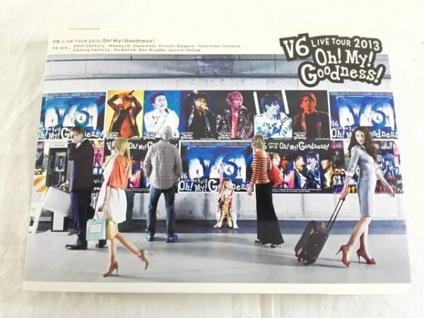 V6 live tour 2013 Oh! My! Goodness!(初回限定版A) コンサートグッズの画像