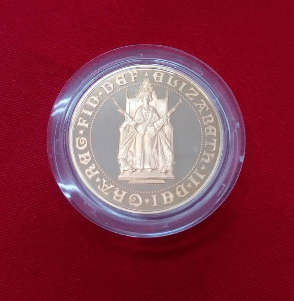 ★激レア★ イギリス 1989年 ソブリン金貨 2ポンド 500年記念 エリザベス女王