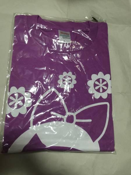 チームしゃちほこ しゃちピー Tシャツ 紫 パープル 大黒柚姫 Lサイズ 新品 ゆずき ライブグッズの画像