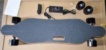 リモコン操作 電動ロングスケートボード スケボー