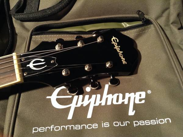 Epiphone Casino Coupe EBONY No.030617