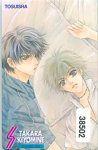 38502★あべ美幸 テレカ★_画像1