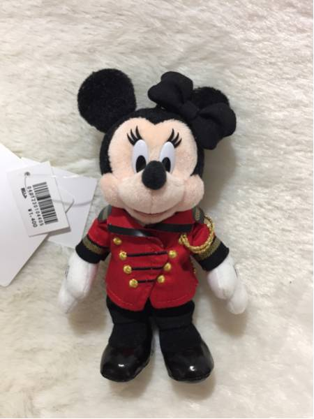 ディズニーランドホテル ミニー ぬいぐるみバッジ ディズニーグッズの画像