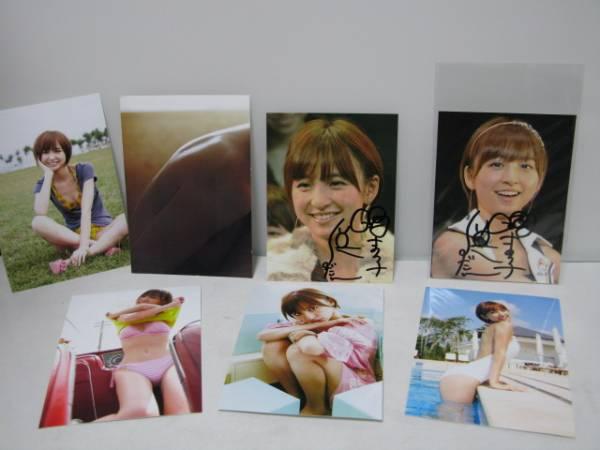 AKB48 生写真 サイン 篠田麻里子 ライブ・総選挙グッズの画像