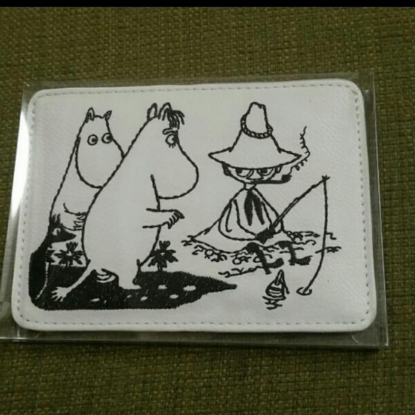 ムーミン スナフキン カードケース 定期入れ 名刺入れ 美品 グッズの画像