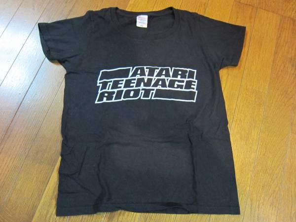 ATARI TEENAGE RIOT バンドTシャツ W-Mサイズ アタリ デジタル ハードコア パンク