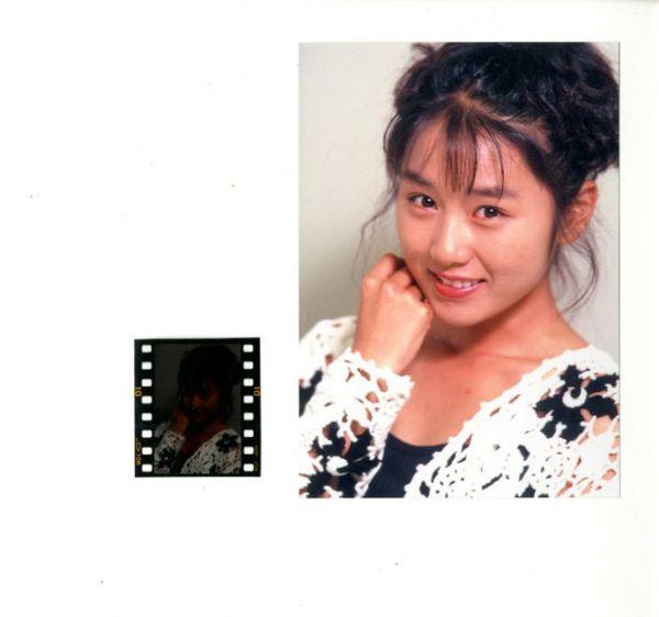 39★中嶋ミチヨ:ポジ付生写真★