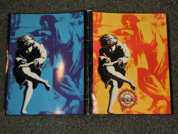 GUNSN'ROSES 90's ツアー パンフ ガンズアンドローゼズ