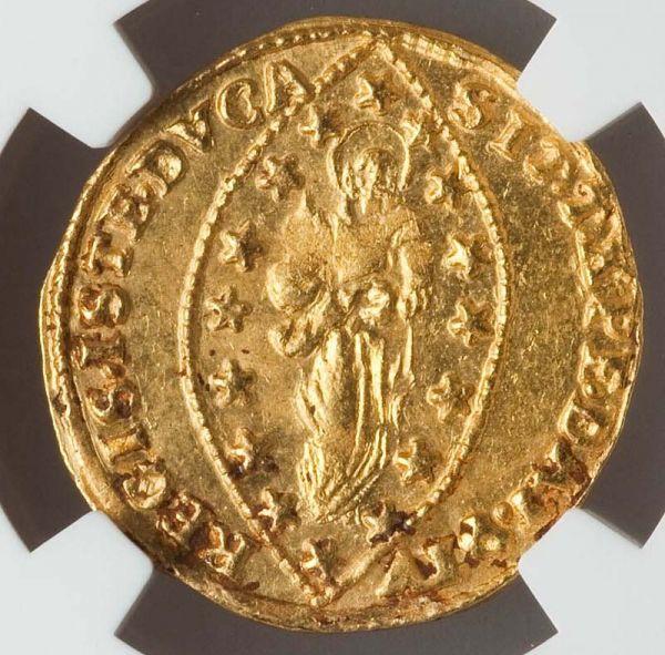 ★ 1789 -1797 イタリア ベニス ゼッキーノ 金貨 NGC MS62 ルドヴィーコ・マニン Zecchino ★_画像2