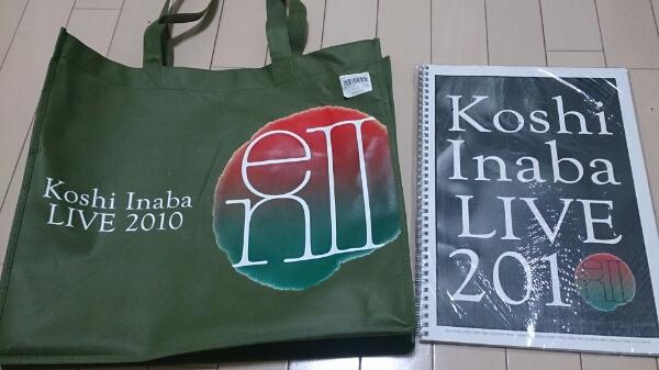 稲葉浩志 Koshi Inaba LIVE2010~enⅡ~グッズセット ライブグッズの画像