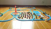 ☆カプセルプラレール☆ トーマス 車両 レール 情景 大量 DXお楽しみNEWレースセット パート2