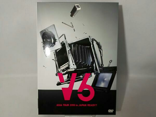 V6 ASIA TOUR 2010 in JAPAN READY?(初回限定版A)(READY?盤) コンサートグッズの画像
