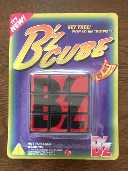 B'z アルバム B'z THE MIXTUREノベルティ キューブパズル 未開封