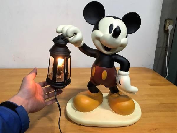(152) ディズニー ミッキーマウス 置物 照明付