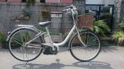 電動自転車ブリジストン アシスタ(リチウム) (A22)前後タイヤ新品(兵庫)