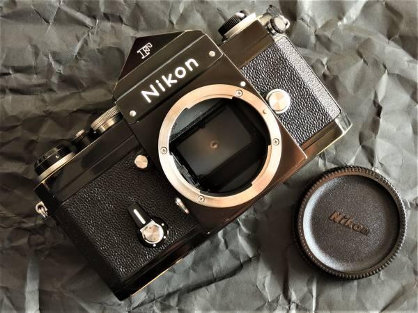 認定店オーバーホール済 Nikon ニコン New F アイレベルブラック 末期の744万番台